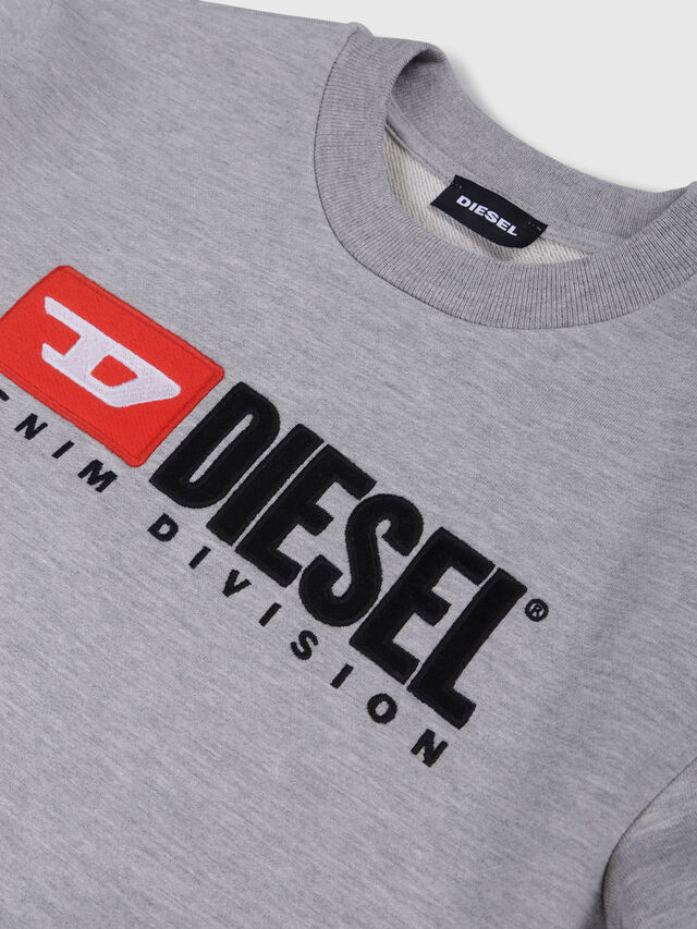 Diesel - SCREWDIVISION OVER, Grey - Sweaters - Image 3