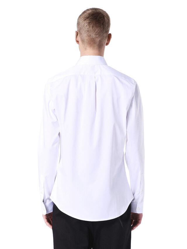 SERIOUS-STRIPECAR, White