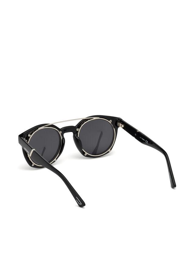 Diesel - DL0251, Bright Black - Eyewear - Image 2
