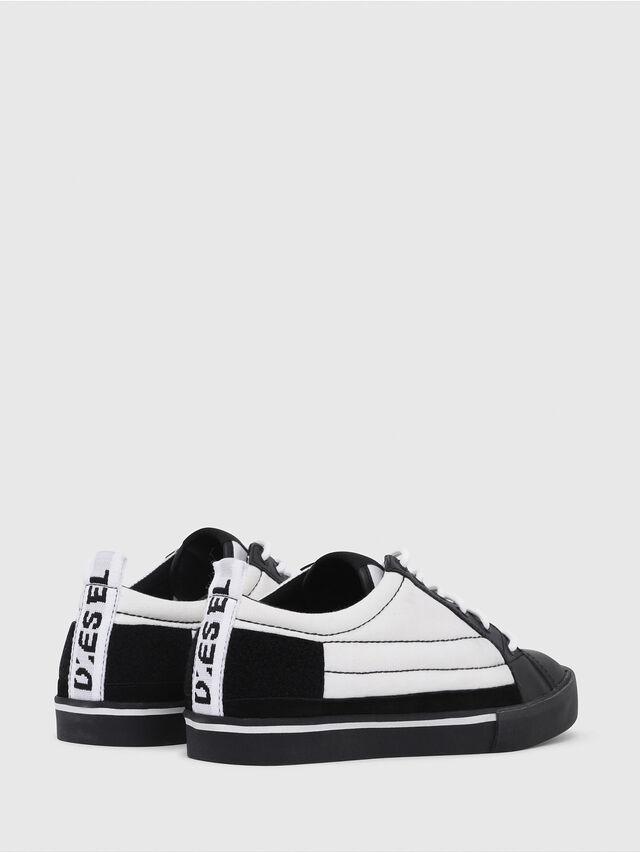 Diesel - D-VELOWS LOW PATCH, Black/White - Sneakers - Image 3