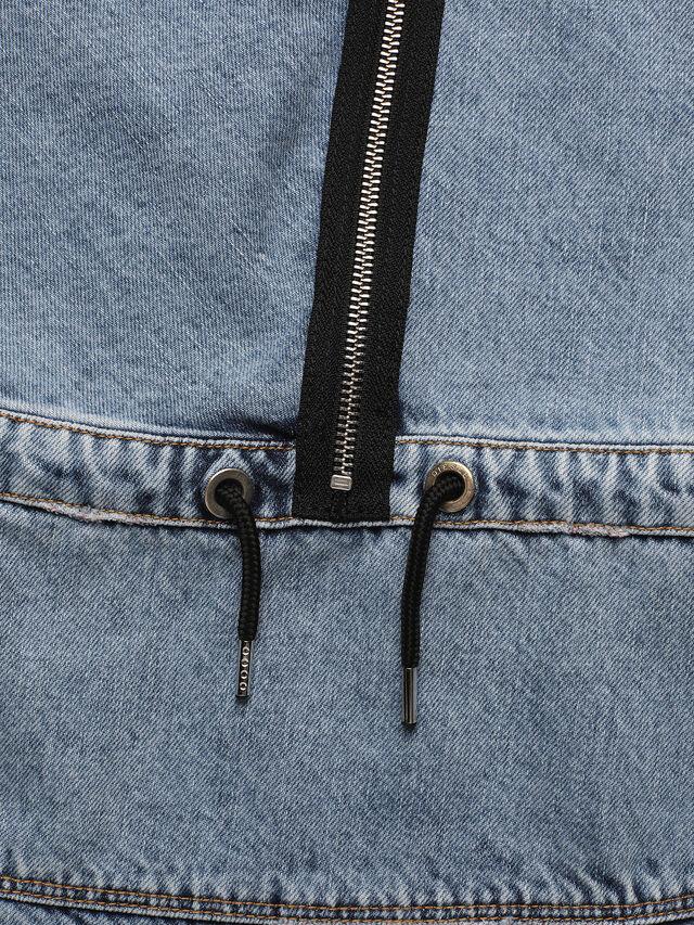 Diesel - DELFYD, Blue Jeans - Dresses - Image 4