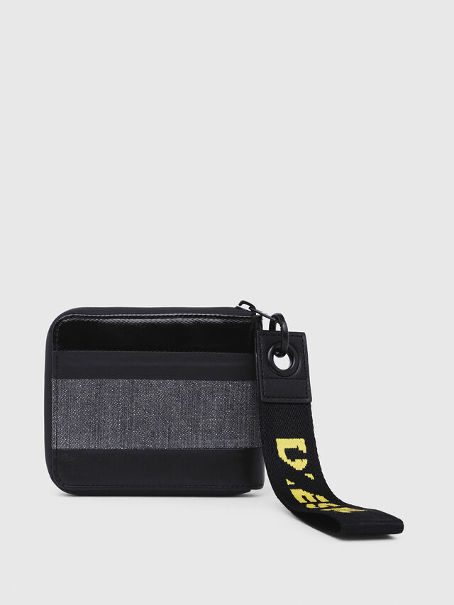 Diesel - ZIPPY HIRESH S, Gray/Black - Zip-Round Wallets - Image 2