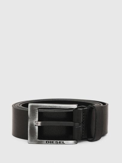 Diesel - B-SPAZZO, Black - Belts - Image 1