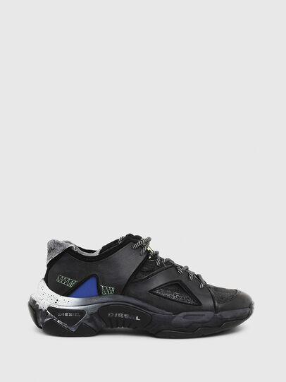Diesel - S-KIPPER SP, Black - Sneakers - Image 1