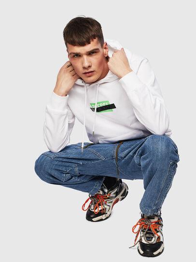 Diesel - S-GIRK-HOOD-S1, White - Sweaters - Image 6