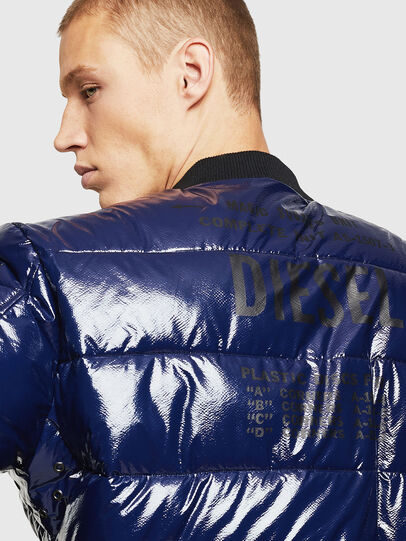 Diesel - W-ON, Blue - Winter Jackets - Image 6