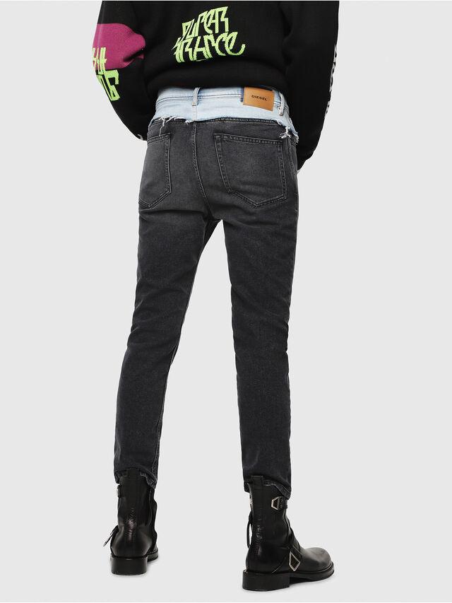 Diesel - D-Eetar 088AB, Black/Dark grey - Jeans - Image 2