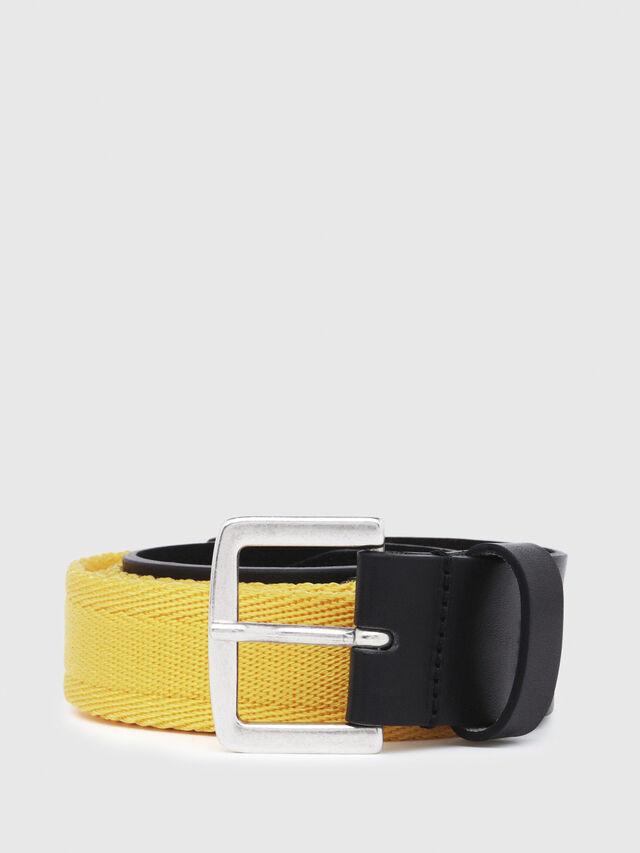 Diesel - B-BOSCO, Black/Yellow - Belts - Image 1
