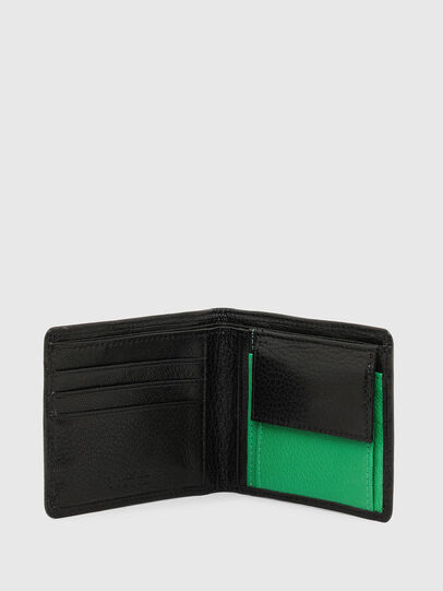 Diesel - HIRESH S, Black/Green - Small Wallets - Image 3