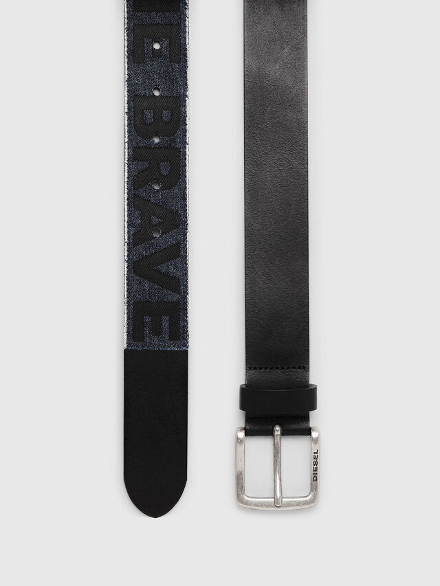 Diesel - B-SERUGO, Black - Belts - Image 3