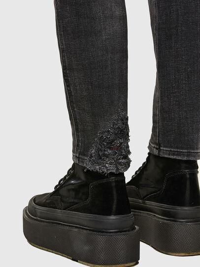 Diesel - Babhila 009JN, Black/Dark grey - Jeans - Image 5