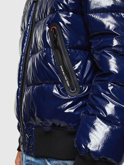 Diesel - W-ON, Blue - Winter Jackets - Image 5