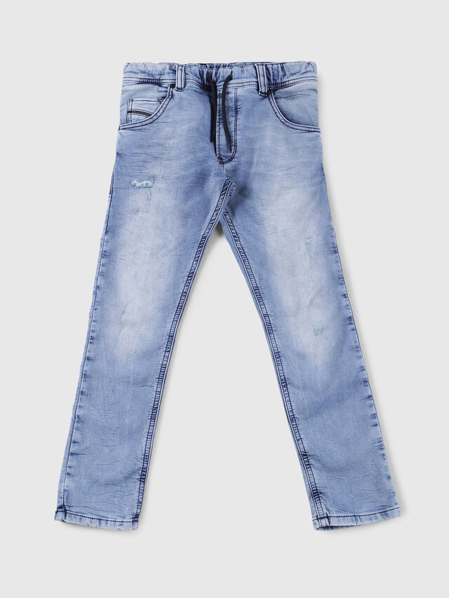 Diesel - KROOLEY-J JOGGJEANS, Light Blue - Jeans - Image 1