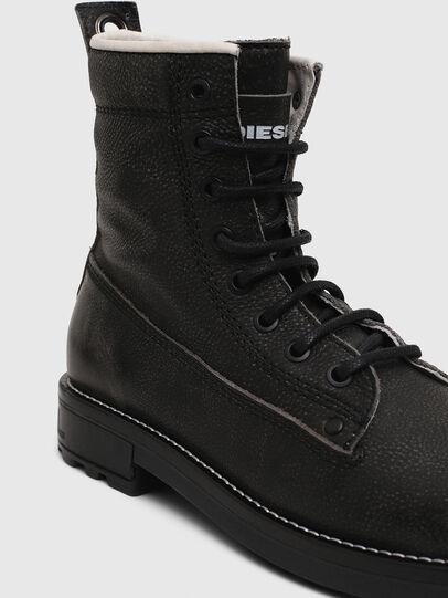 Diesel - D-THROUPER DBB W, Dark grey - Ankle Boots - Image 4