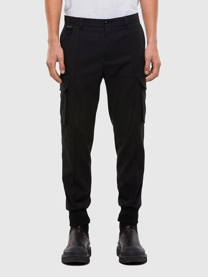Diesel - P-SONG, Black - Pants - Image 1
