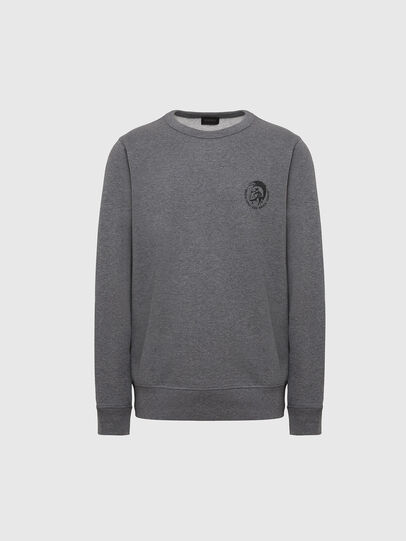 Diesel - UMLT-WILLY, Grey Melange - Sweaters - Image 1