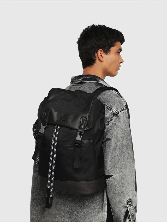 Diesel - SUSE BACK, Black - Backpacks - Image 6