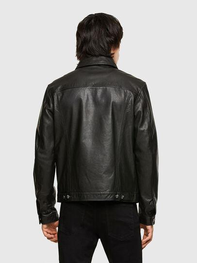 Diesel - L-PAD, Black - Leather jackets - Image 2