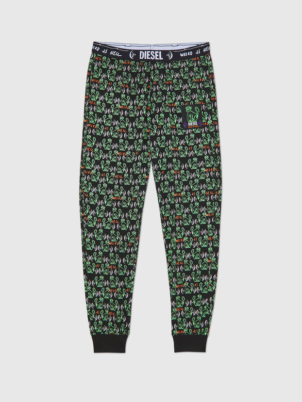 UMLB-JULIO, Black/Green - Pants