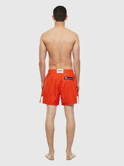 Diesel - BMBX-WAVE-E42, Orange - Swim shorts - Image 2