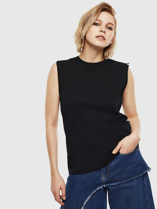 T-LESLEE-A, Black - T-Shirts