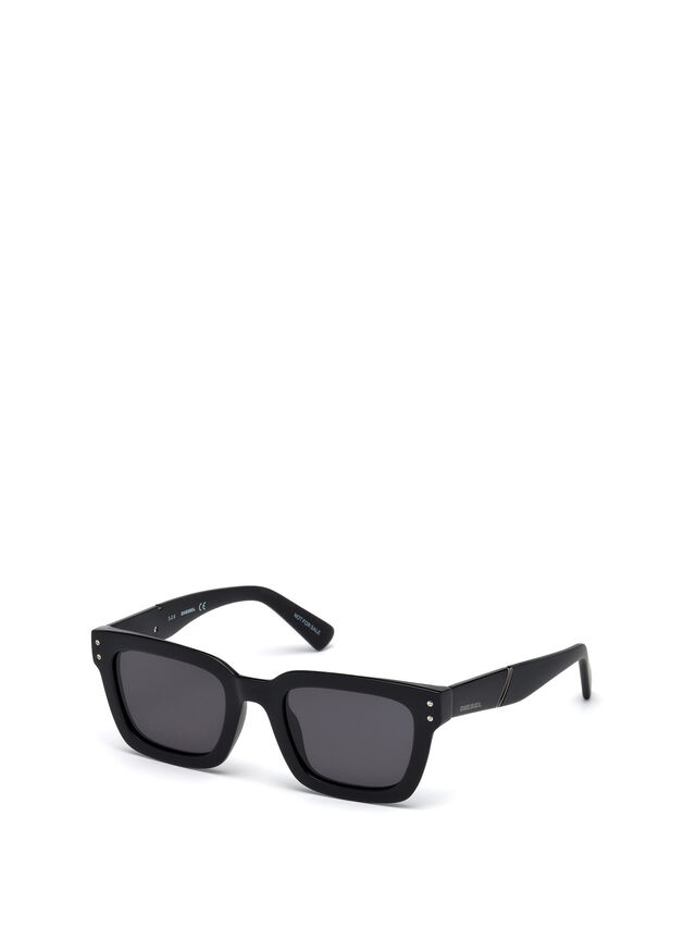 Diesel - DL0231, Black - Sunglasses - Image 4