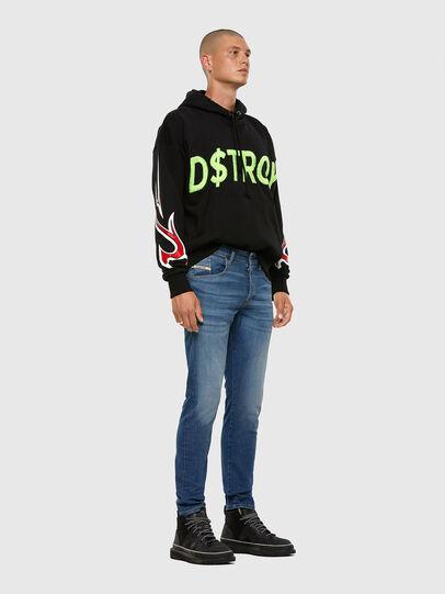 Diesel - D-Bazer 009DB, Medium blue - Jeans - Image 5