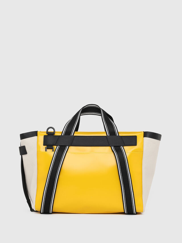 Diesel - F-CAORLY SATCHEL M, Yellow - Bags - Image 2