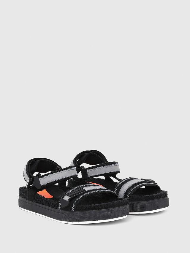 Diesel - SA-GRAND LC, Black/Grey - Sandals - Image 2