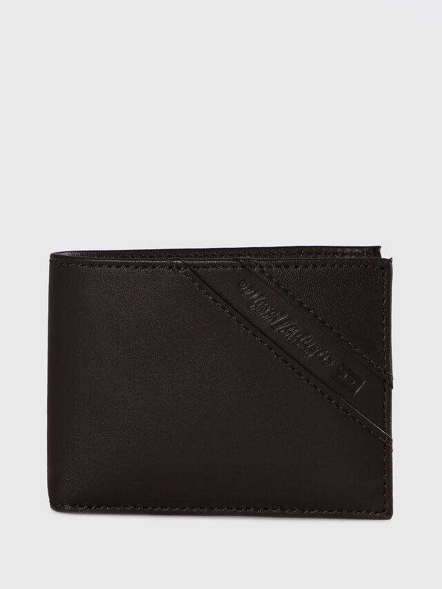 Diesel - HIRESH XS, Dark Brown - Small Wallets - Image 1