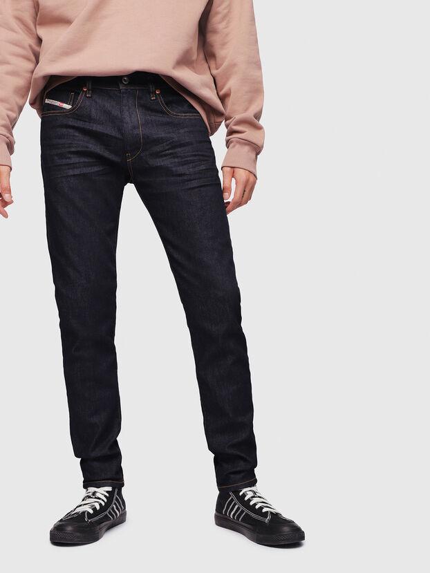 D-Strukt 082AC, Dark Blue - Jeans