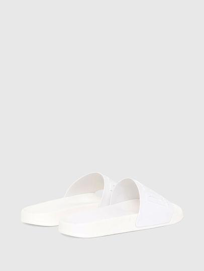 Diesel - SA-MAYEMI W, White - Slippers - Image 3