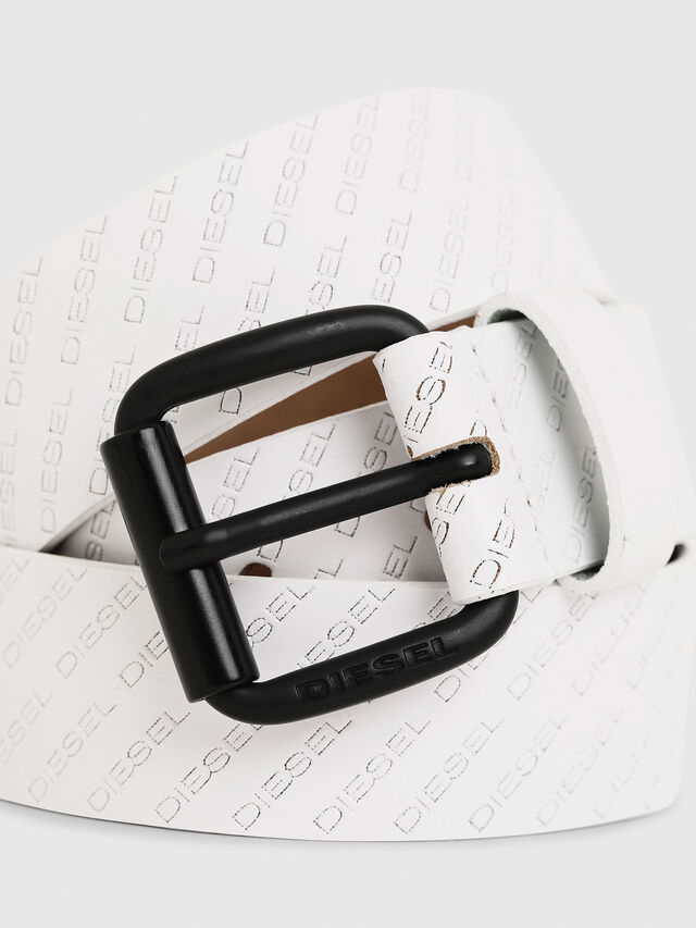 Diesel - B-SOLESINO, White - Belts - Image 2
