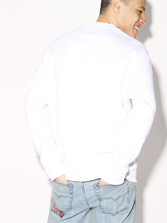 Diesel - DEIS-SGIRO, White - Sweaters - Image 6