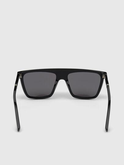 Diesel - DL0323, Bright Black - Sunglasses - Image 4