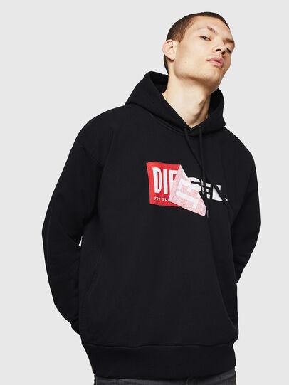 Diesel - S-ALBY, Black - Sweaters - Image 1