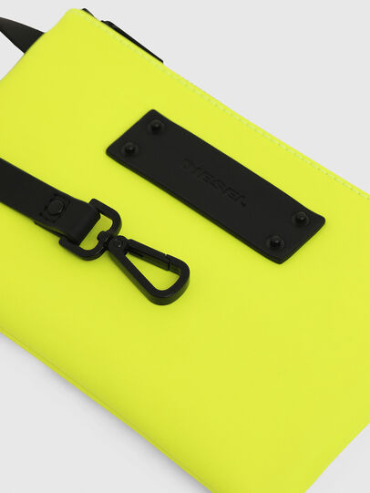 Diesel - LUSIEVOLUTION, Yellow Fluo - Continental Wallets - Image 3