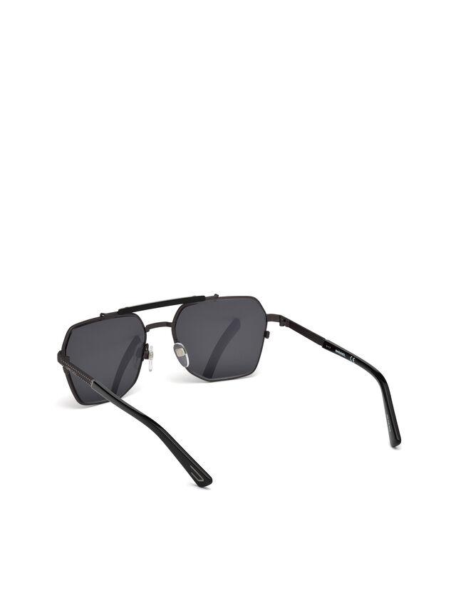 Diesel - DL0256, Black - Eyewear - Image 4