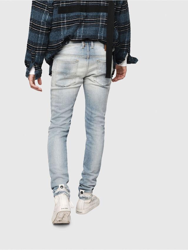 Diesel - Sleenker 081AJ, Light Blue - Jeans - Image 2