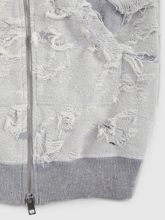 Diesel - SFMICH, Grey - Sweaters - Image 3