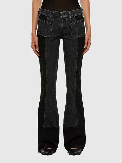 Diesel - D-Ebbey 009IM, Black/Dark grey - Jeans - Image 1