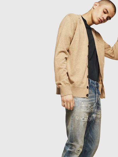 Diesel - K-MILOK, Light Brown - Knitwear - Image 4