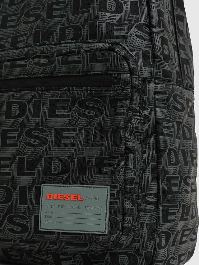 Diesel - F-DISCOVER BACK, Black/Grey - Backpacks - Image 3