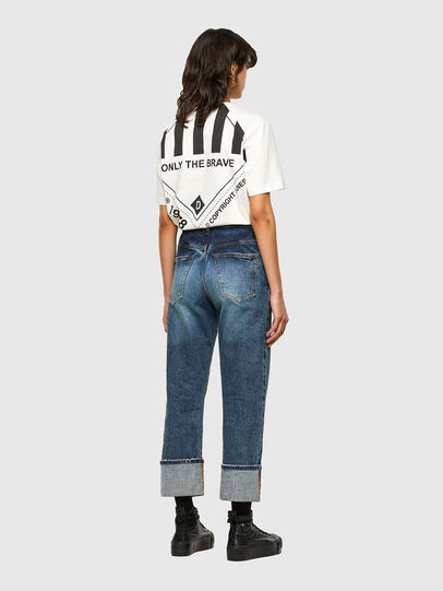 Diesel - T-JUST-N40, White - T-Shirts - Image 9