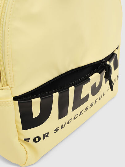 Diesel - F-BOLD BACK FL, Light Yellow - Backpacks - Image 4