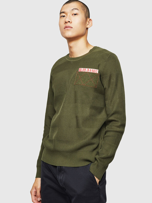 K-STLE, Military Green - Knitwear