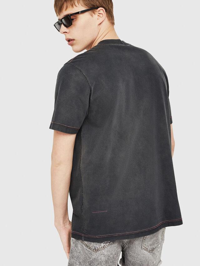 Diesel - T-MINORU, Black - T-Shirts - Image 2