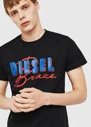 T-DIEGO-C2, Black - T-Shirts