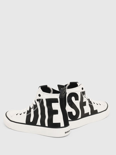 Diesel - S-ASTICO MC W, White/Black - Sneakers - Image 4