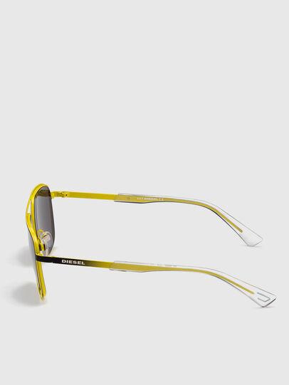 Diesel - DL0325, Black/Yellow - Sunglasses - Image 3